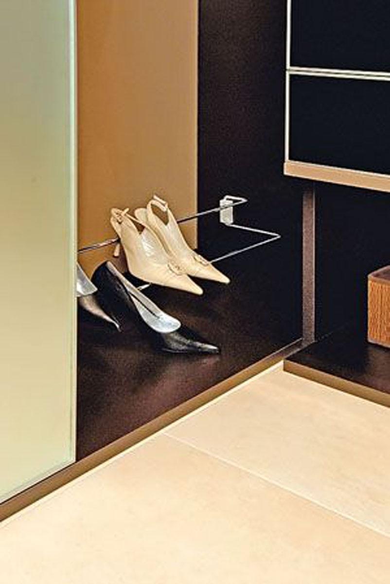 Держатель для обуви в гардеробной