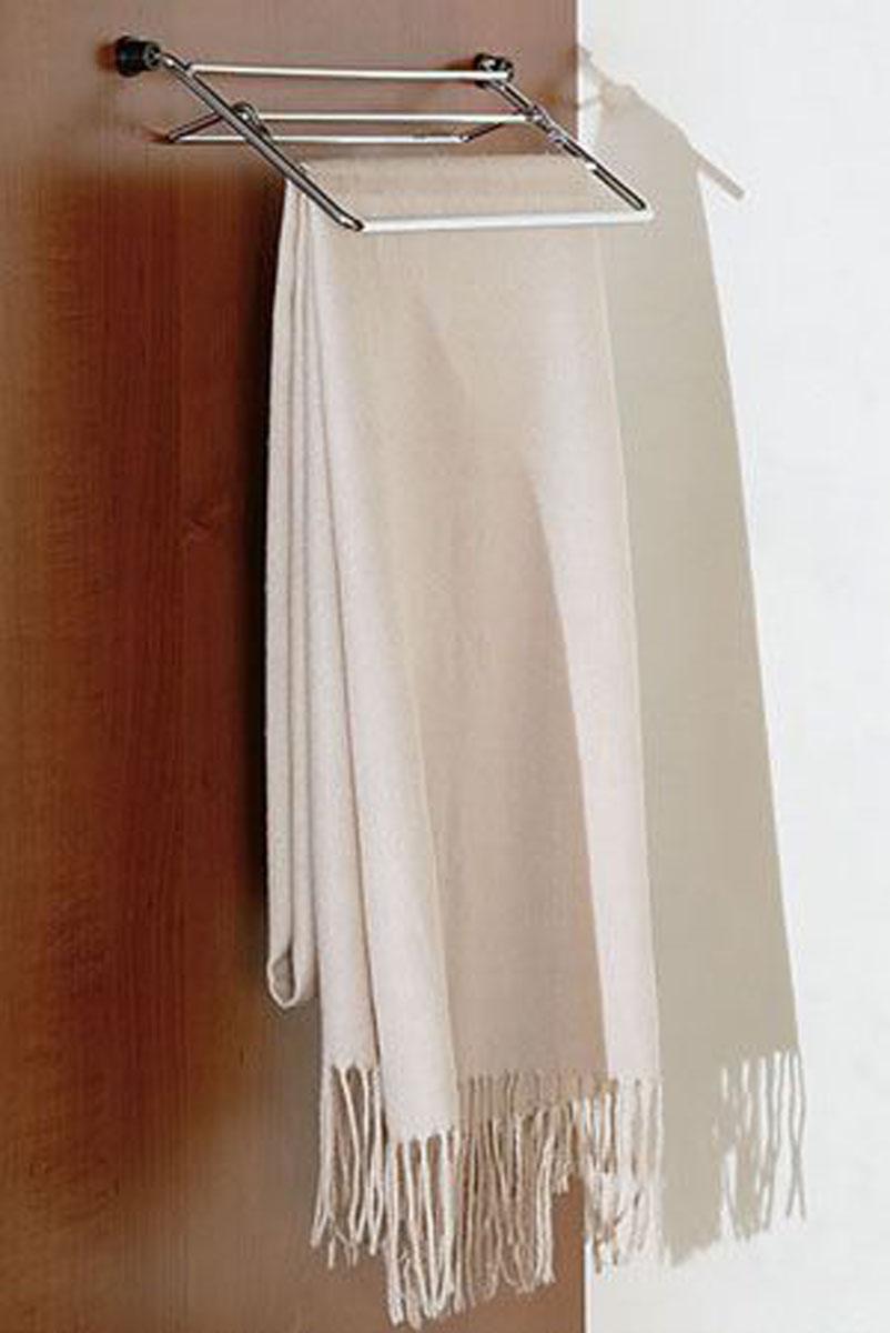 Откидная решетка для платков и палантинов в гардеробной