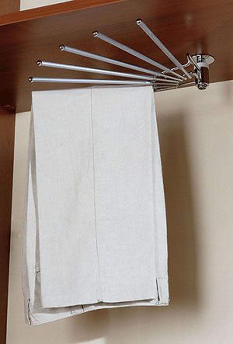 Веерная вешалка с прорезиненным покрытием